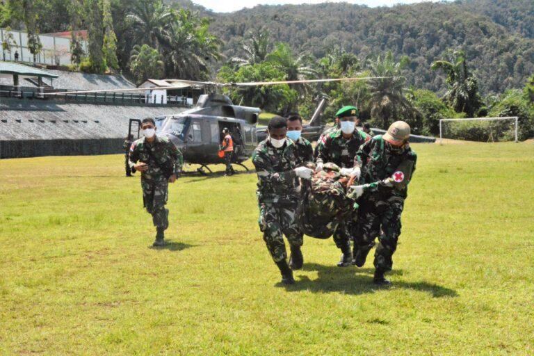 Amankan Evakuasi Nakes di Papua, Satu Prajurit TNI Gugur