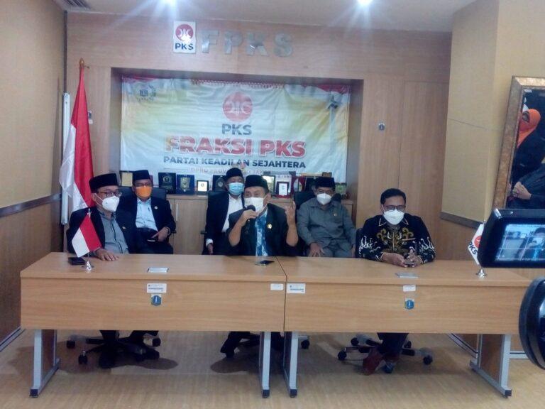 Ketimbang Ribut Interpelasi, PKS Ajak DPRD DKI Fokus Sejahterakan Rakyat