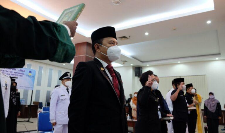 359 ASN Pemkot Depok Dilantik, Diantaranya 13 Pejabat Tinggi Pratama