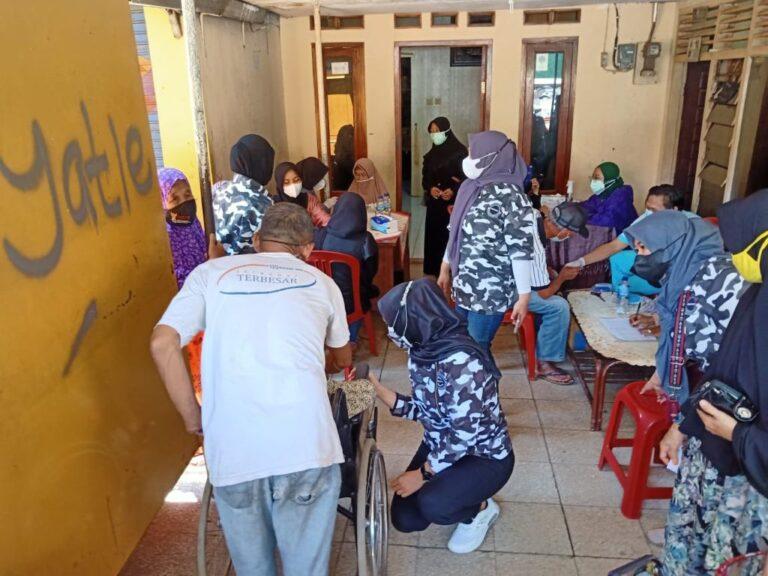 Gelar Layanan Kesehatan Gratis, Pertiwi Nusantara dan Bapera Banjir Pujian