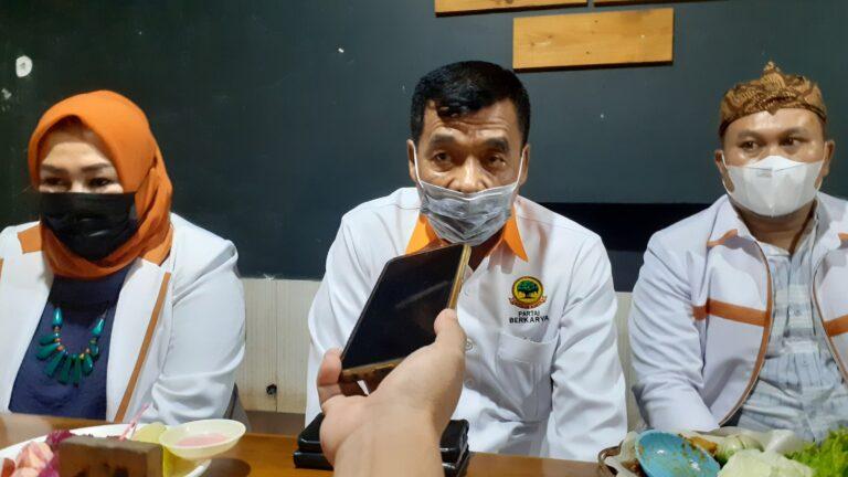 Muchdi PR Minta Kader Berkarya Depok Bersiap Hadapi Pemilu 2024