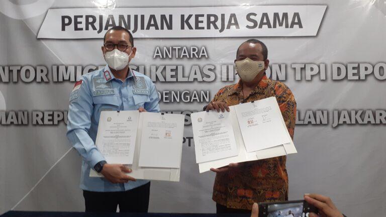 Imigrasi Depok Teken Kerjasama dengan Ombudsman