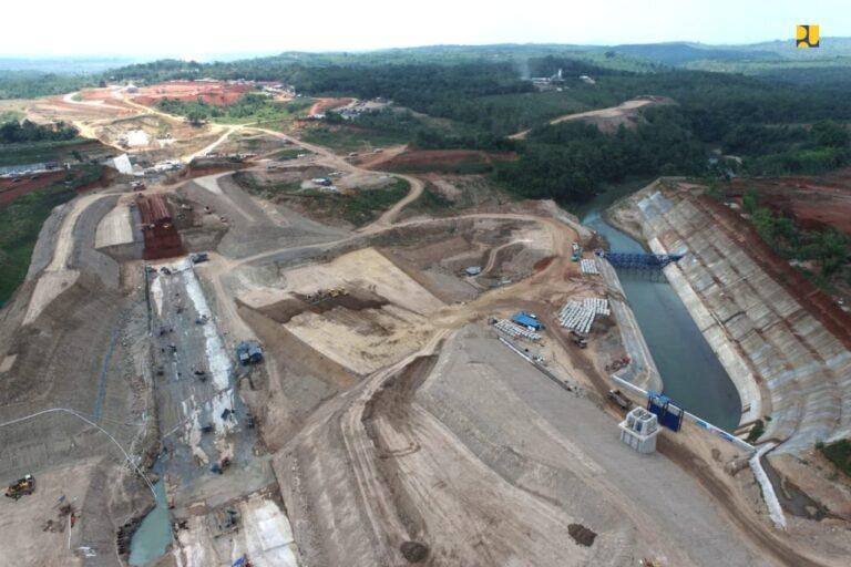 Pembangunan Bendungan Sadawarna di Subang Ditargetkan Rampung Agustus 2022