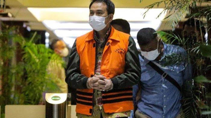 Resmi Tersangka, Azis Syamsuddin Ditahan di Rutan Polres Jaksel
