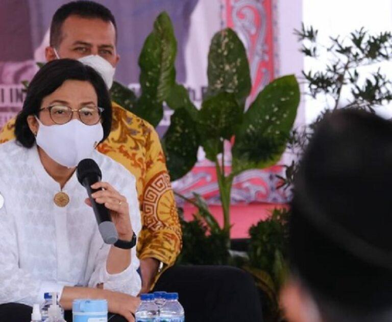 Sri Mulyani Saksikan 1 Juta PKL Medan Terima Bantuan Tunai Rp1,2 T