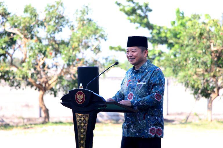Tinjau Gedung SBSN UIN Tulungagung, Soeharso kenang Kejayaan Cendikiawan Muslim