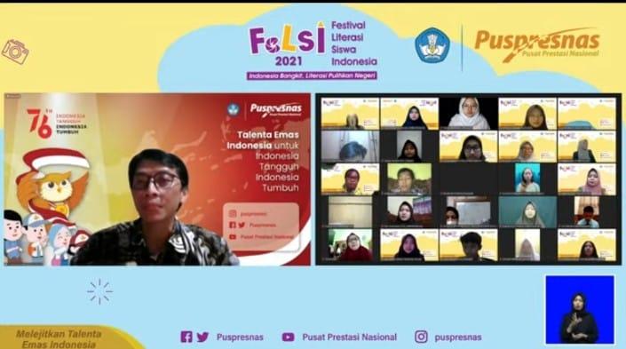 Kemendikbudristek Umumkan Peraih Juara Festival Literasi Siswa Indonesia Tahun 2021