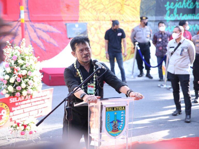 Resmikan Kampung Singkong Salatiga, Mentan SYL: Singkong Naik Kelas Masuk Hotel dan Resto