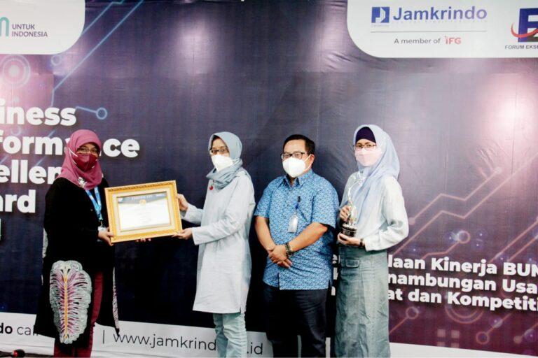 Berkinerja Unggul, Jamkrindo Raih Penghargaan BPEA 2021