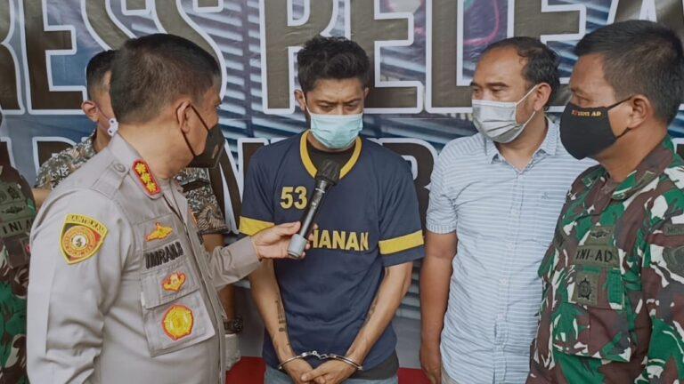 Hari Ini, Kasus Pembunuhan Personel TNI di Depok Direkonstruksi