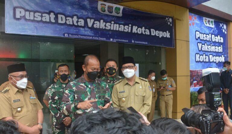 Pangdam Jaya Puji Pelaksanaan Vaksinasi Covid-19 di Depok