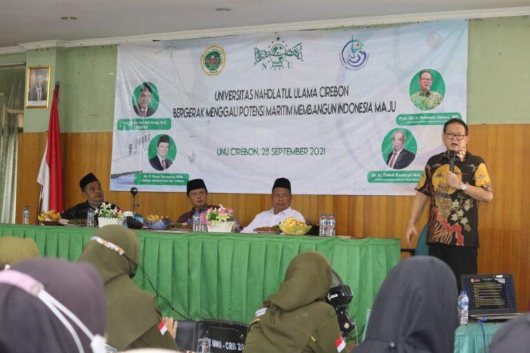 Pakar Kemaritiman ajak UNU Cirebon kembangkan Studi Kelautan dan Perikanan