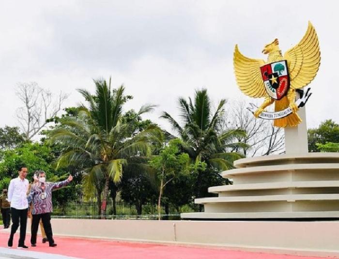 Jokowi Bangga PLBN Sota di Perbatasan RI-Papua Nugini Rampung