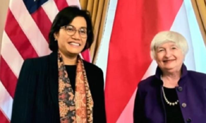 Bertemu Menkeu AS, Sri Mulyani Setuju Perkuat Fondasi Ekonomi