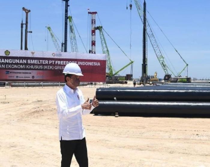 Jokowi Harap Smelter Freeport di Gresik jadi Magnet Industri